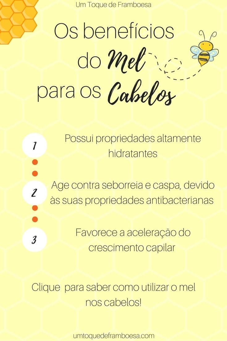 Os Beneficios Do Mel Para Os Cabelos Cabelos Mel Beneficios Do