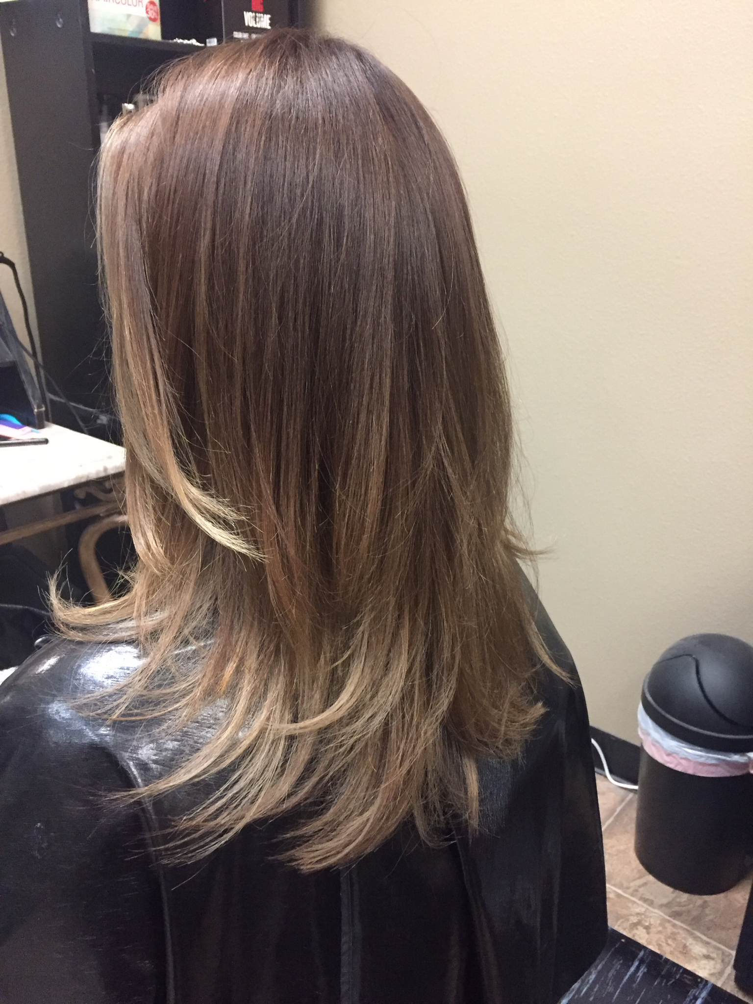 Bronde Balayage With Layered Haircut Hair By Jessica In Salem