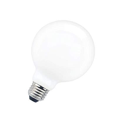 Aluxcia G95 Edison Led Bulb 10w G30 Vintage Globe Light Bulb G30 Frosted Bulb E26 Opal White Light Bulb 100 Globe Light Bulbs White Light Bulbs Vintage Globe