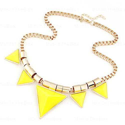 [USD $ 4.99]  - Chic Triangle Necklace