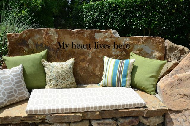 My Heart Lives Here: The Firepit Gets a Makeover
