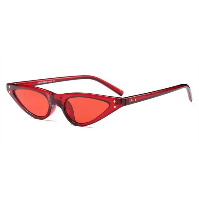 3774fbcfa3 Cat-Eye Burgrundy | Products | Cat eye sunglasses, Sunglasses