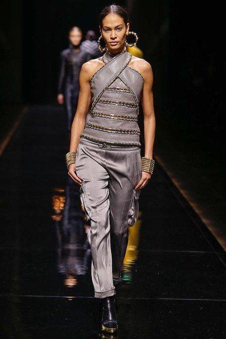 Balmain AW2014 at Paris Fashion Week via heelsandbells.com