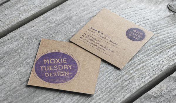 40 creative mini square business cards design photo creative 40 creative mini square business cards design photo reheart Images