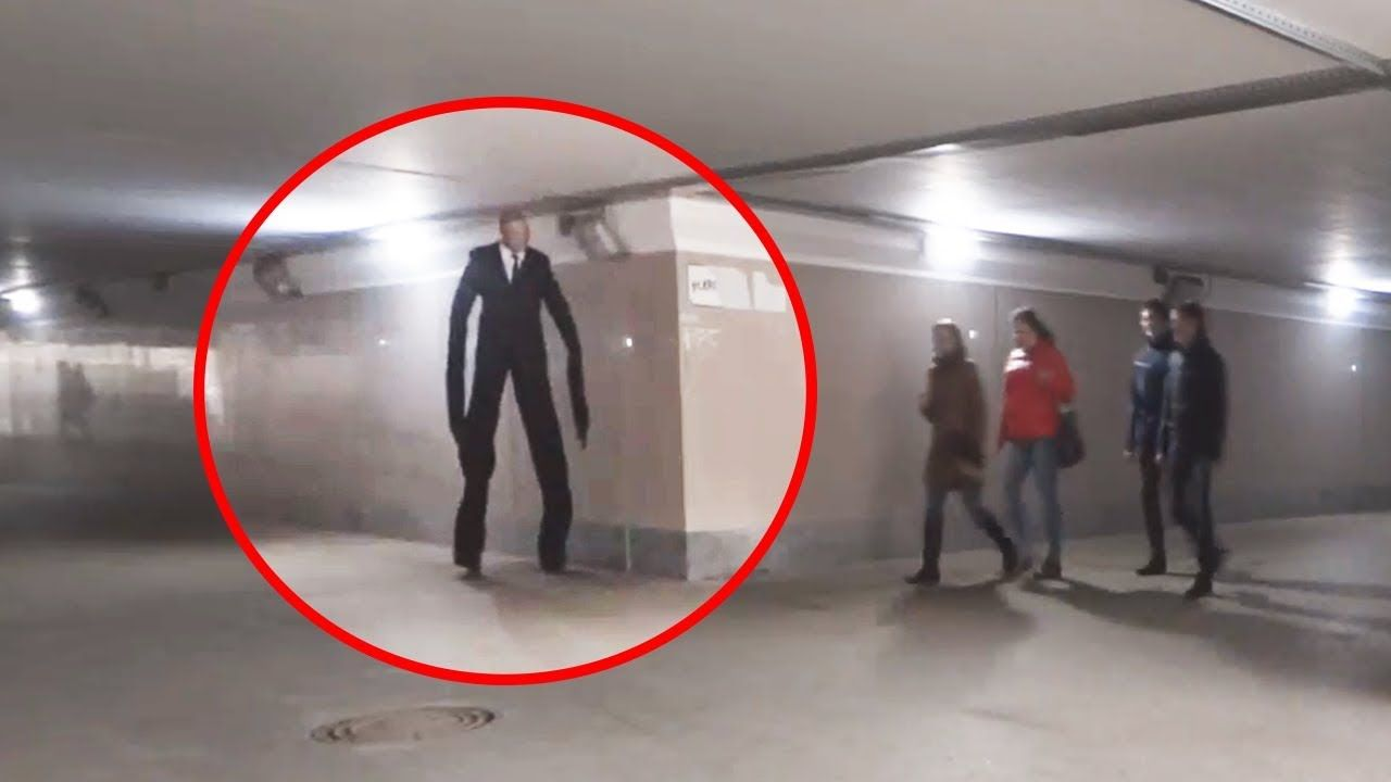 video 5 slenderman halloween prank! scary prank! funny prank | funny