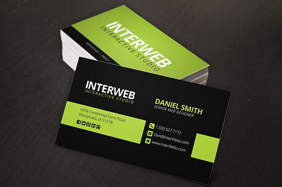 Check Out Web Designer Business Card By Creativenauts On Creative - Graphic design business card templates