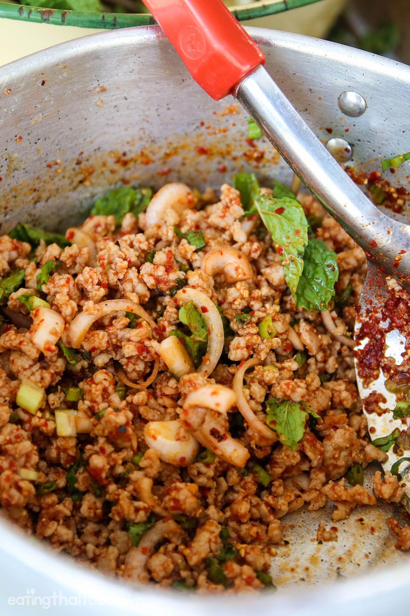 Thai larb recipe (larb moo ลาบหมู) – Authentic Thai Style