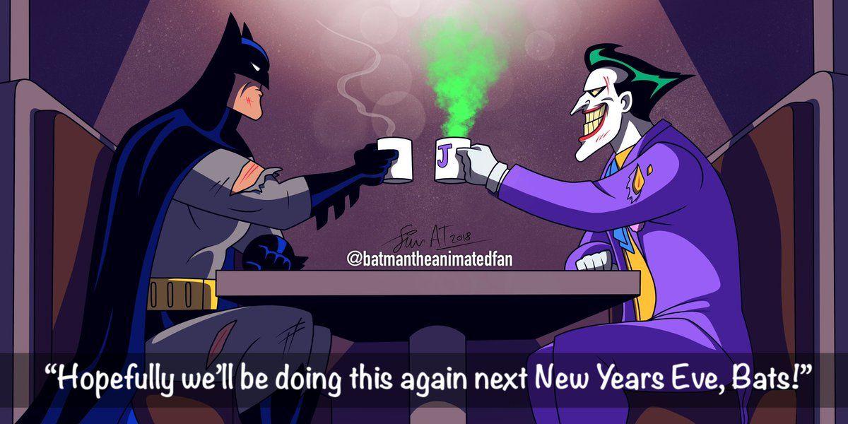 Twitter Batman The Animated Series Batman Batman Joker