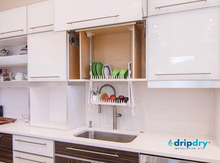 Classic Ddc Dish Racks Kitchen Cabinets Dish Rack Drying