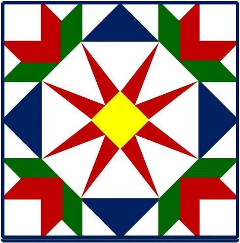 Summer Star Barn Quilt Pattern Please Return To Our Barn Quilts