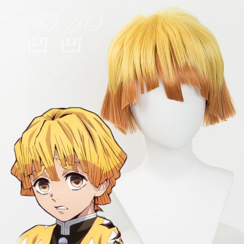 Photo of Anime Hair Cosplay Costume Wig + Beanie