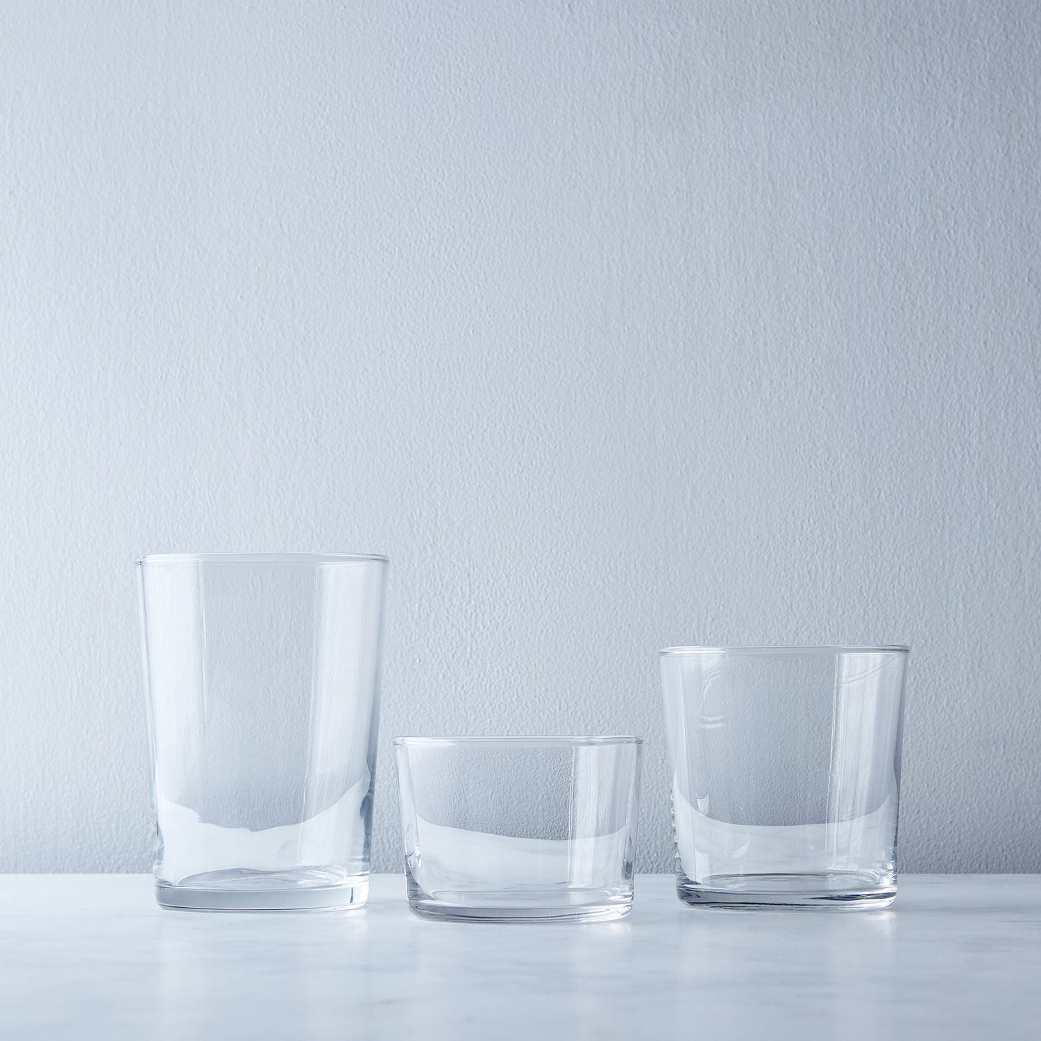 Stackable Bodega Glasses (Set of 12) | Glass, Kitchens and Tabletop