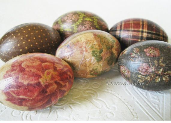 Easter Eggs Old World Country By CatnipStudioToo 3900