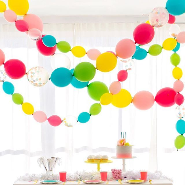 Introducing our new linked balloons the come with an for What can you make with balloons