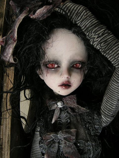Julien Martinez Scary Dolls Gothic Dolls Halloween Doll