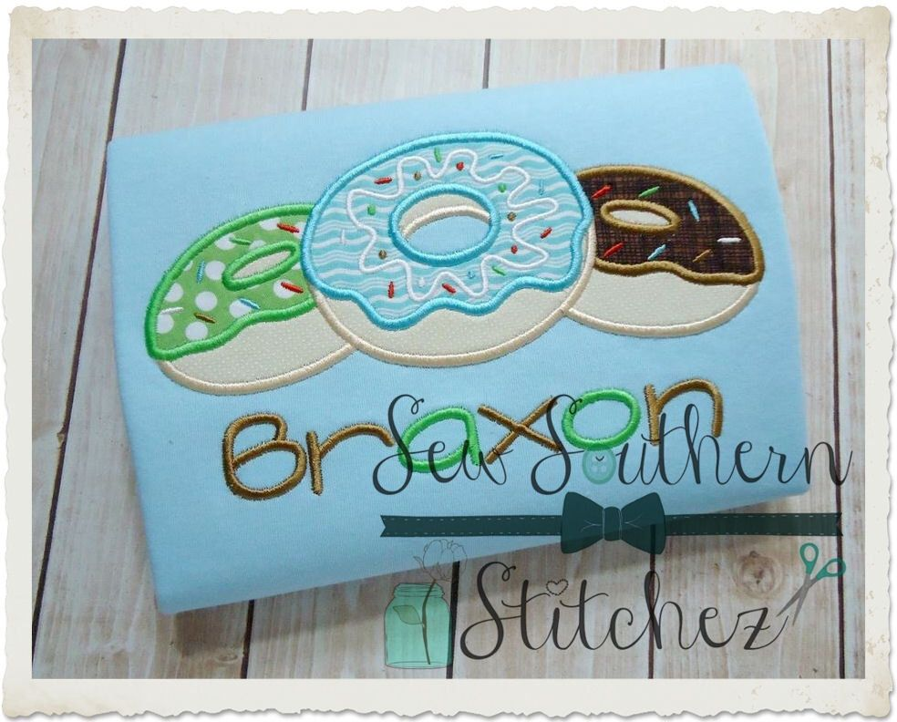 Pin by kelli goncalves on donut party applique