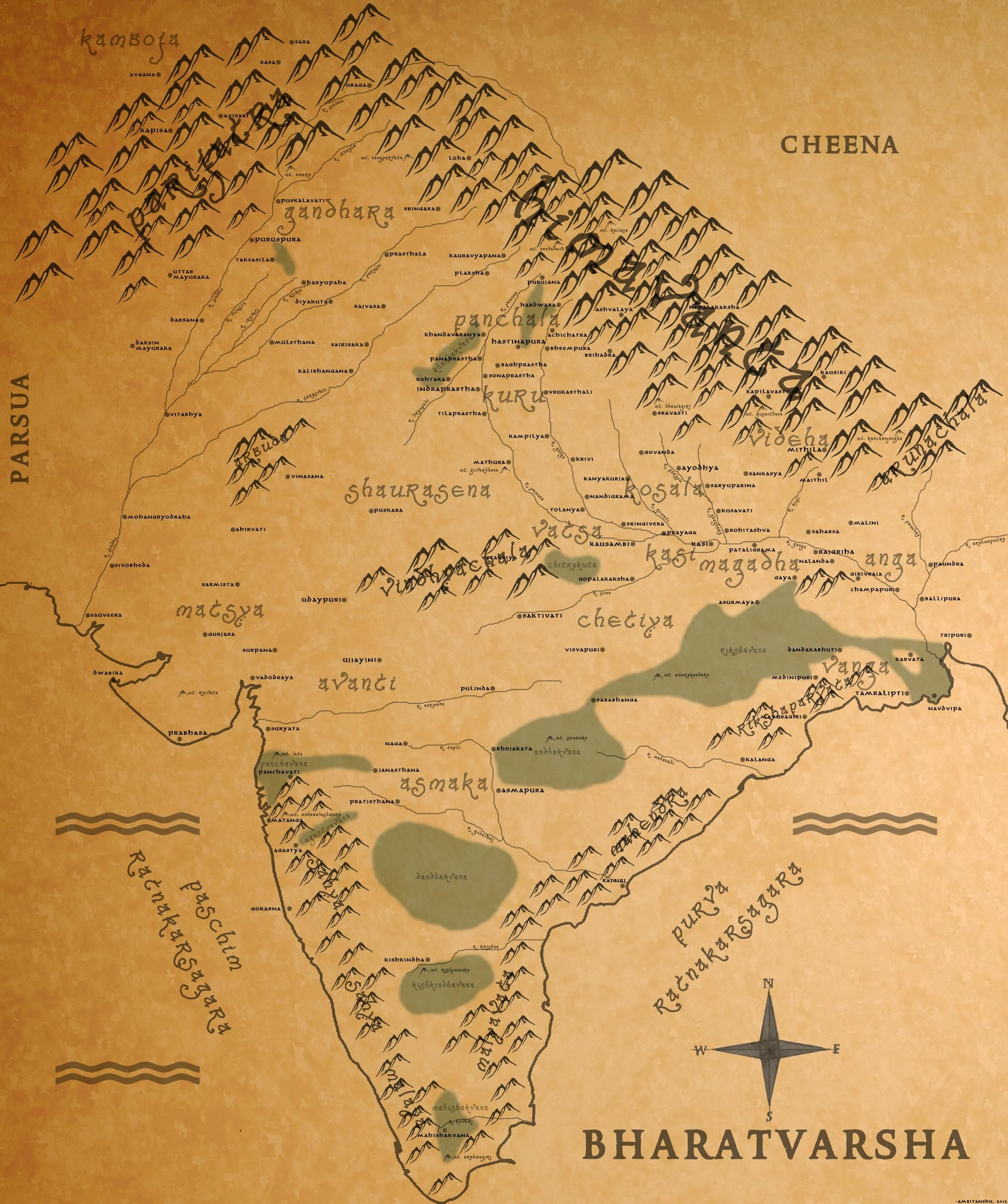A Look At India From The Views Of Other Scholars Ancient India Map Ancient Indian History India World Map