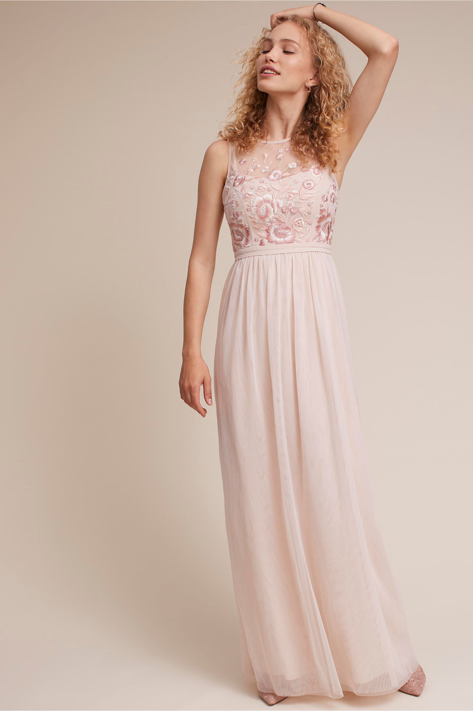 757e7a46f22 Baldwin Dress Cinnamon Rose in Bridesmaids   Bridal Party