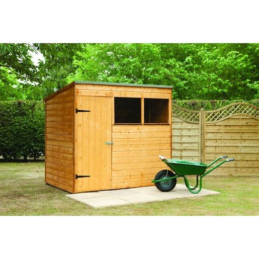 Wickes Shiplap Pent Shed 7x5 Wickes Co Uk Garden Shed Kits Shed Garden Shed