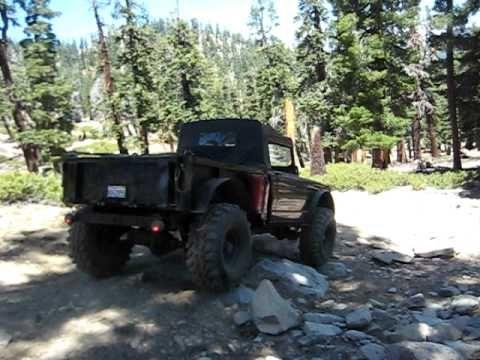 ▶ 67 Kaiser Ultimate challenge top truck highway rockcrawler - YouTube