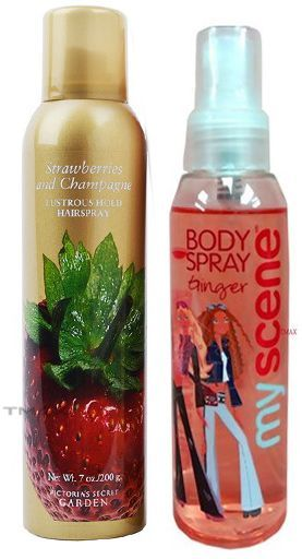 Tmaxstore Victorias Secret Strawberries Champagne Hair Spray 200g