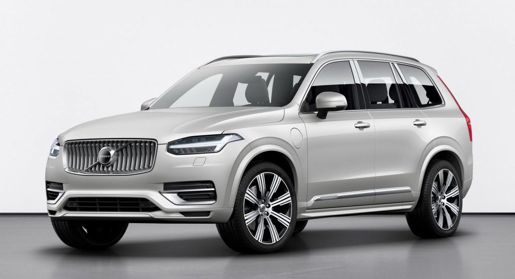 Restyled Volvo Xc90 Breaks Cover With Kers System New Software With Images Volvo Suv
