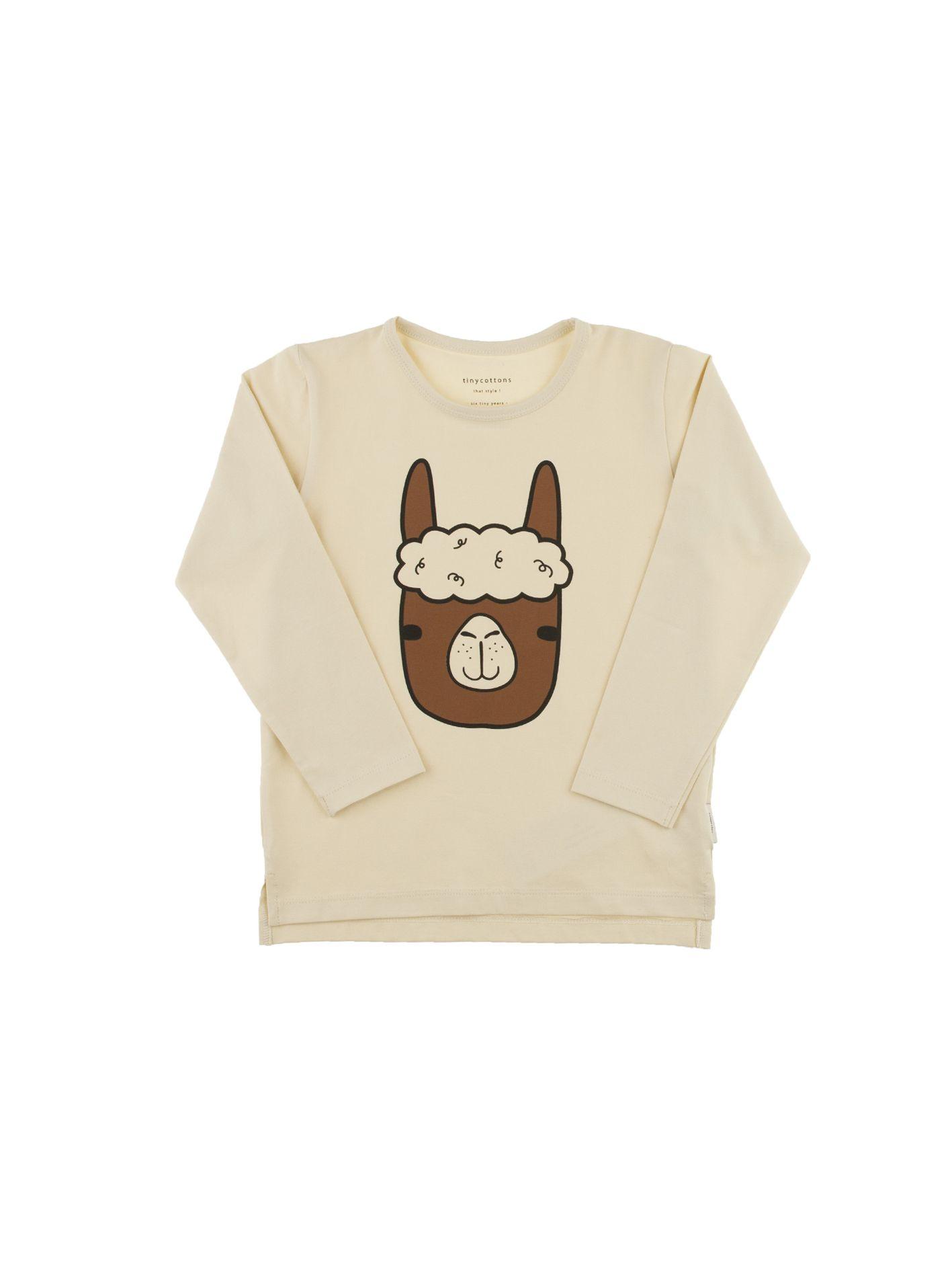 f0e434dabea97 Camiseta de manga larga Cara de Llama