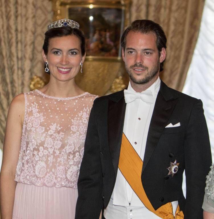 Claire Und Felix Von Luxemburg Susses Foto Ihrer Tochter Amalia