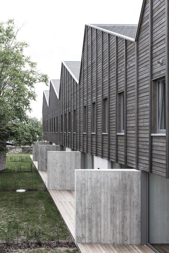 Holzhaus Dresden ein drachenhaus für dresden wohnungsbau löser lott atelier