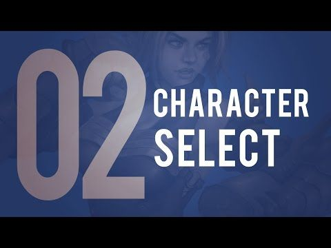 UE4 Blueprint Tutorial 02 - Character Select Screen
