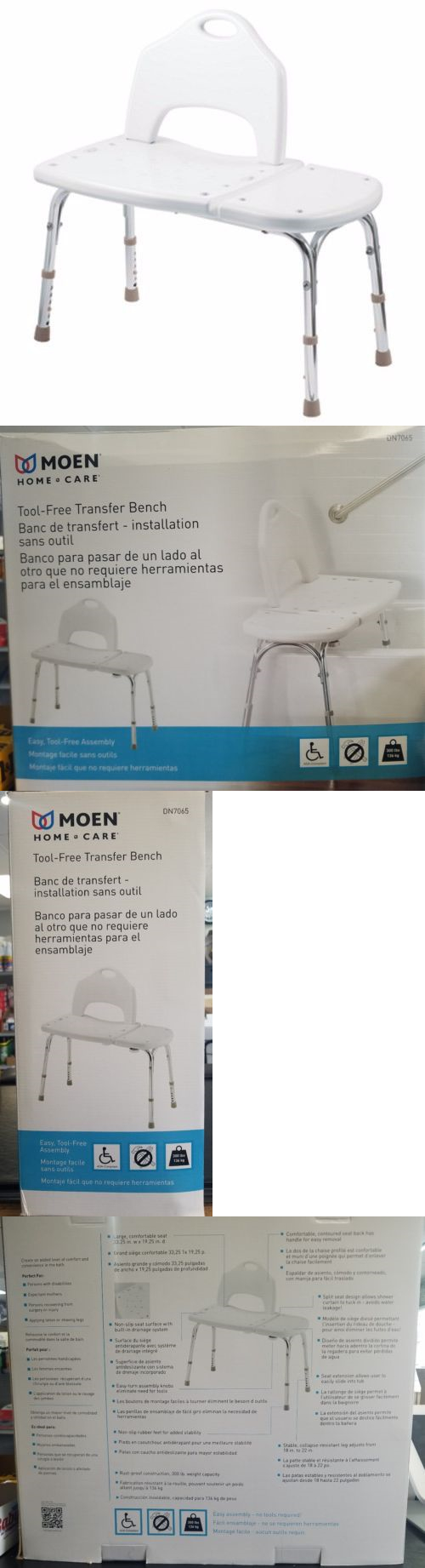 Transfer Boards and Benches: Moen Home Care Glacier Transfer Bench ...