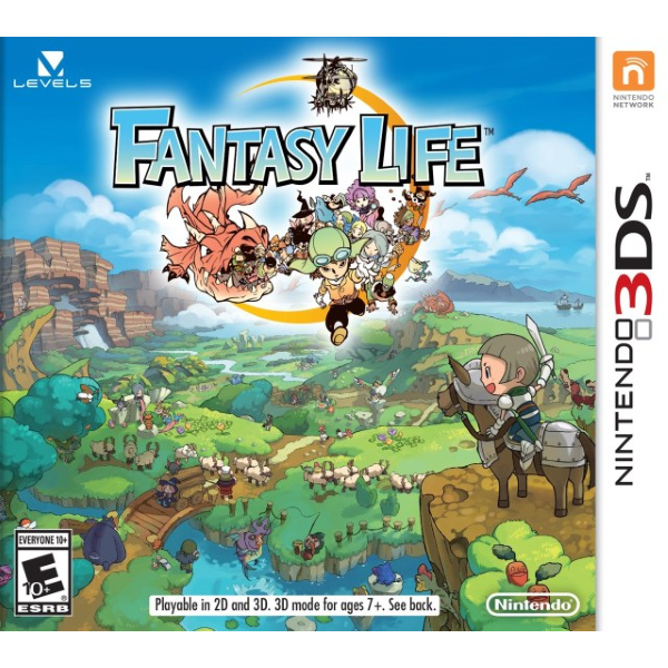 Fantasy Life [Nintendo 3DS] 3d mode, Ds spiele und Pc spiele