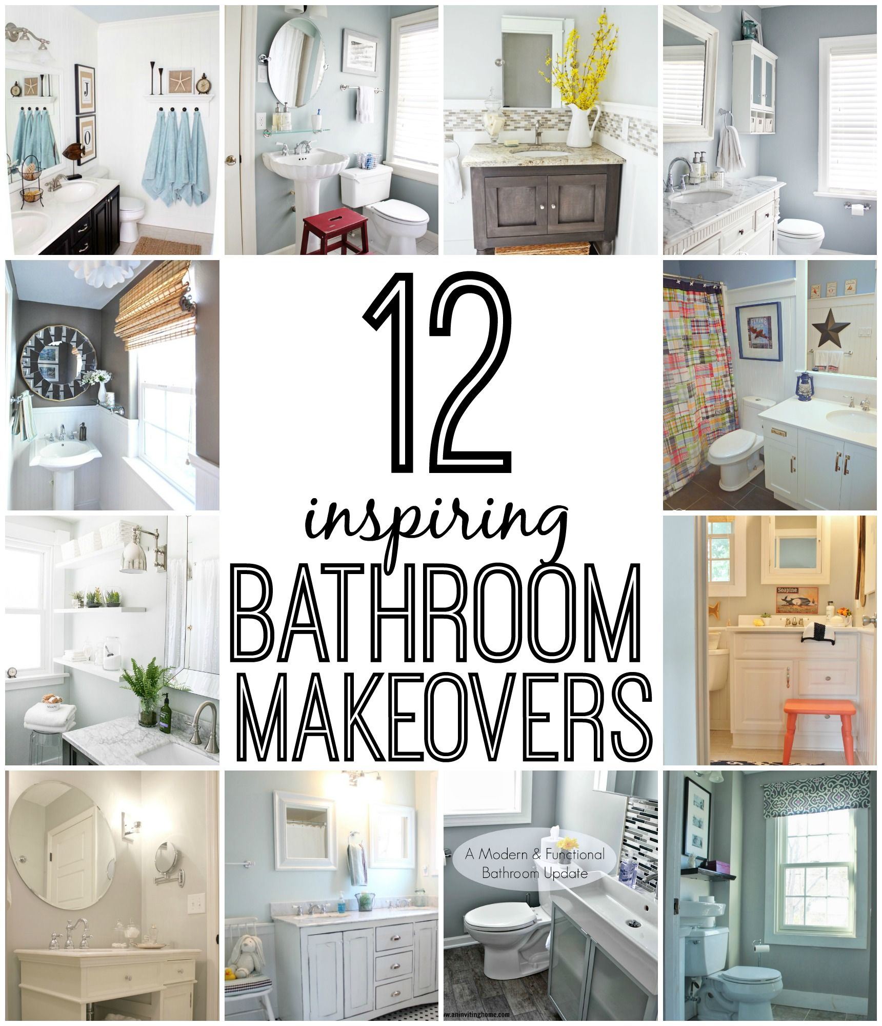 12 Inspirations For Home Improvement With Spanish Home: 12 Inspiring Bathroom Makeovers