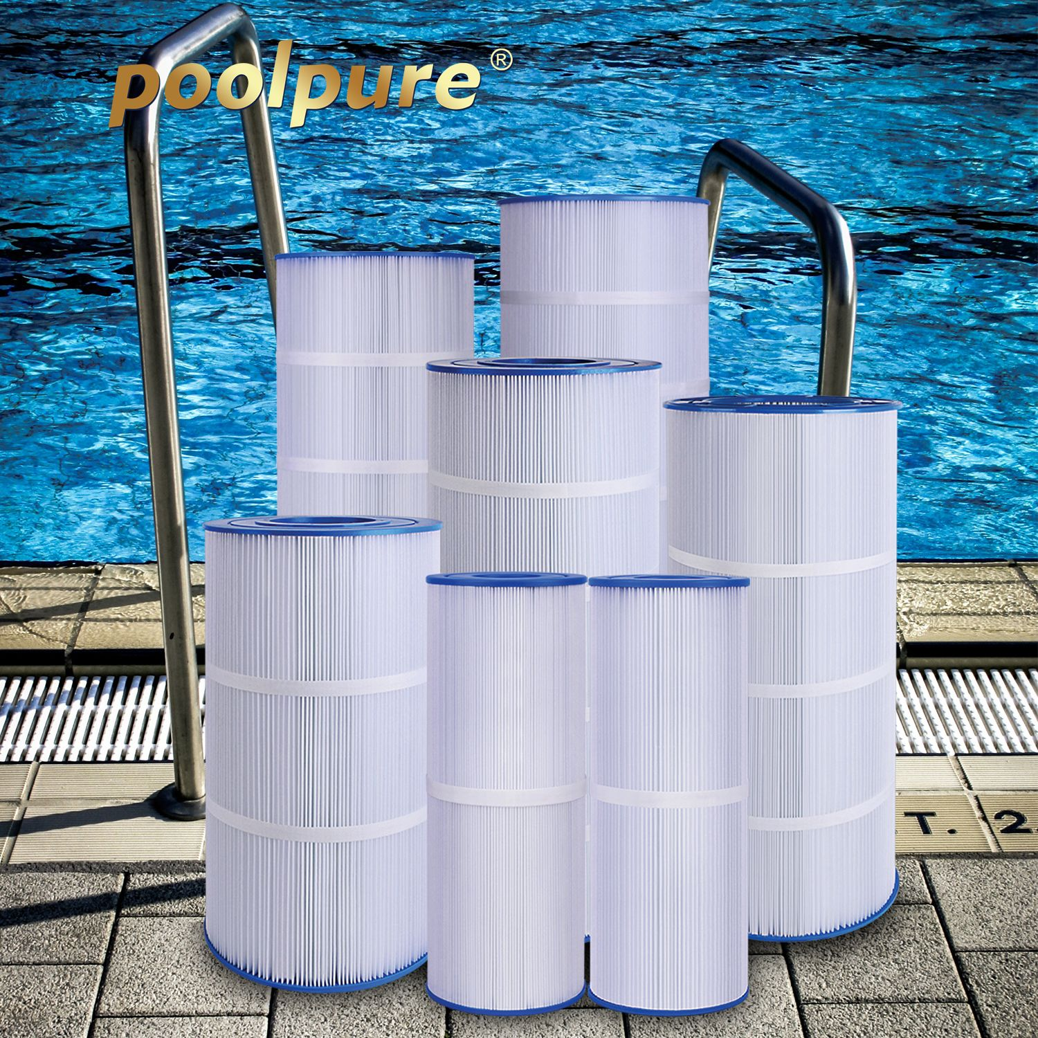 Poolpure pool spa filters can be used for 12 yearseven