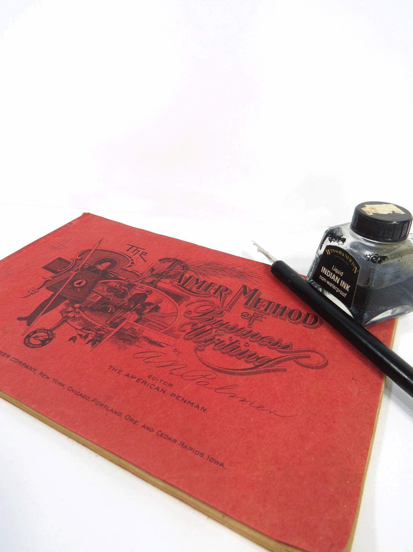 Vintage Palmer Method Of Business Writing Booklet Self