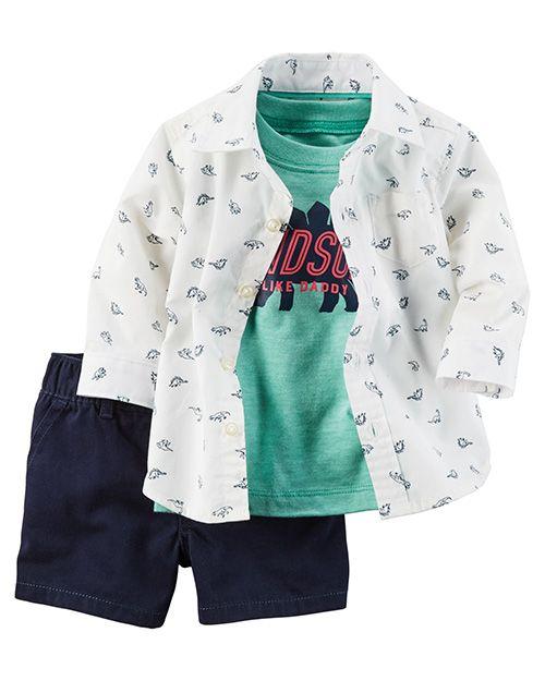 da413c39d Moda primavera verano 2018 ropa para bebés. Carter s ropa para bebés  primavera verano 2018.
