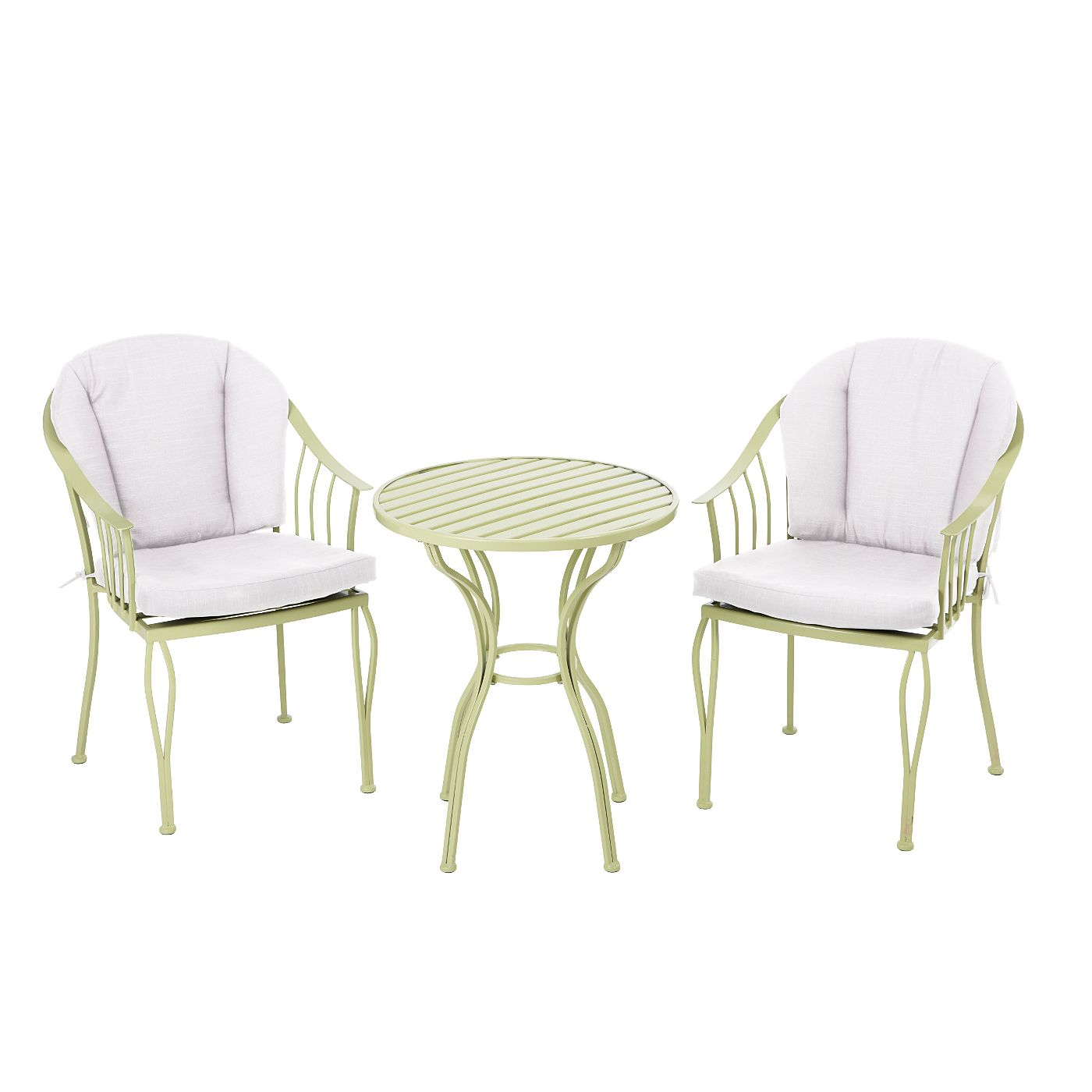 Habitat Outside Sofa Heritage 3 Piece Bistro Set Green View All Outdoor Asda