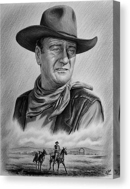 Captured Canvas Print Canvas Art By Andrew Read John Wayne Western Art John Wayne Movies