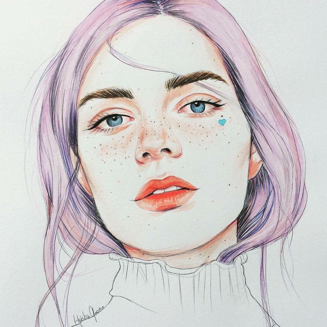 Portrait Art, Face Illustration