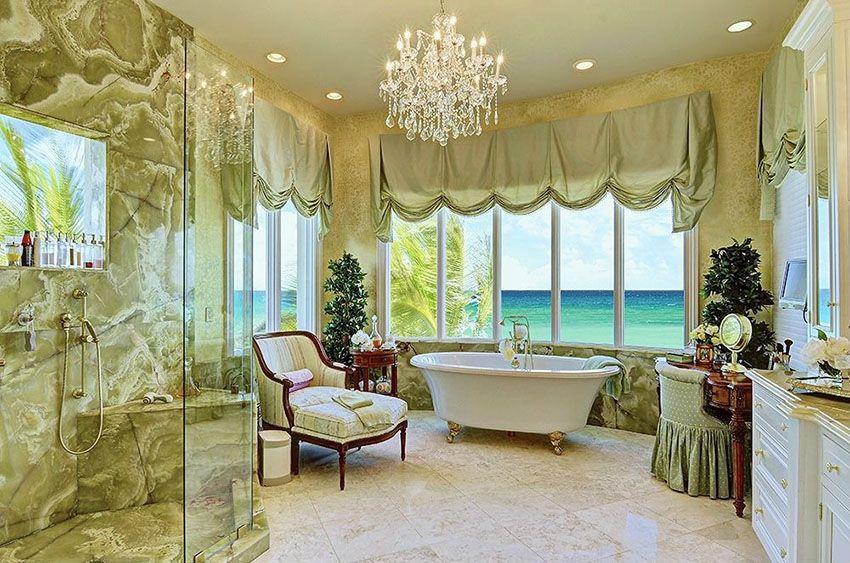 63 Luxury Walk In Showers (Design Ideas) | Bathtubs, Chandeliers and ...