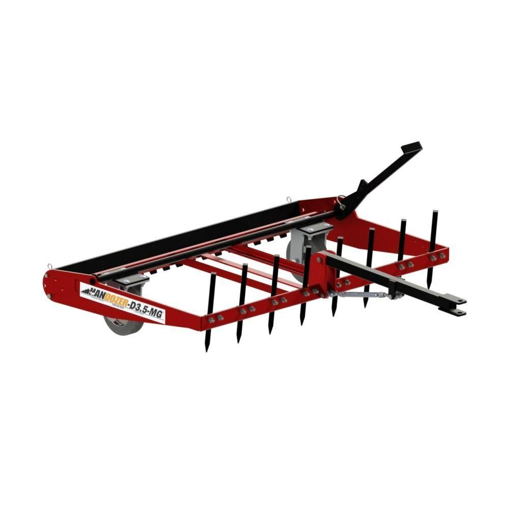 Dirt And Gravel Drag For Lawnmower D3 5 Mg The Home Depot