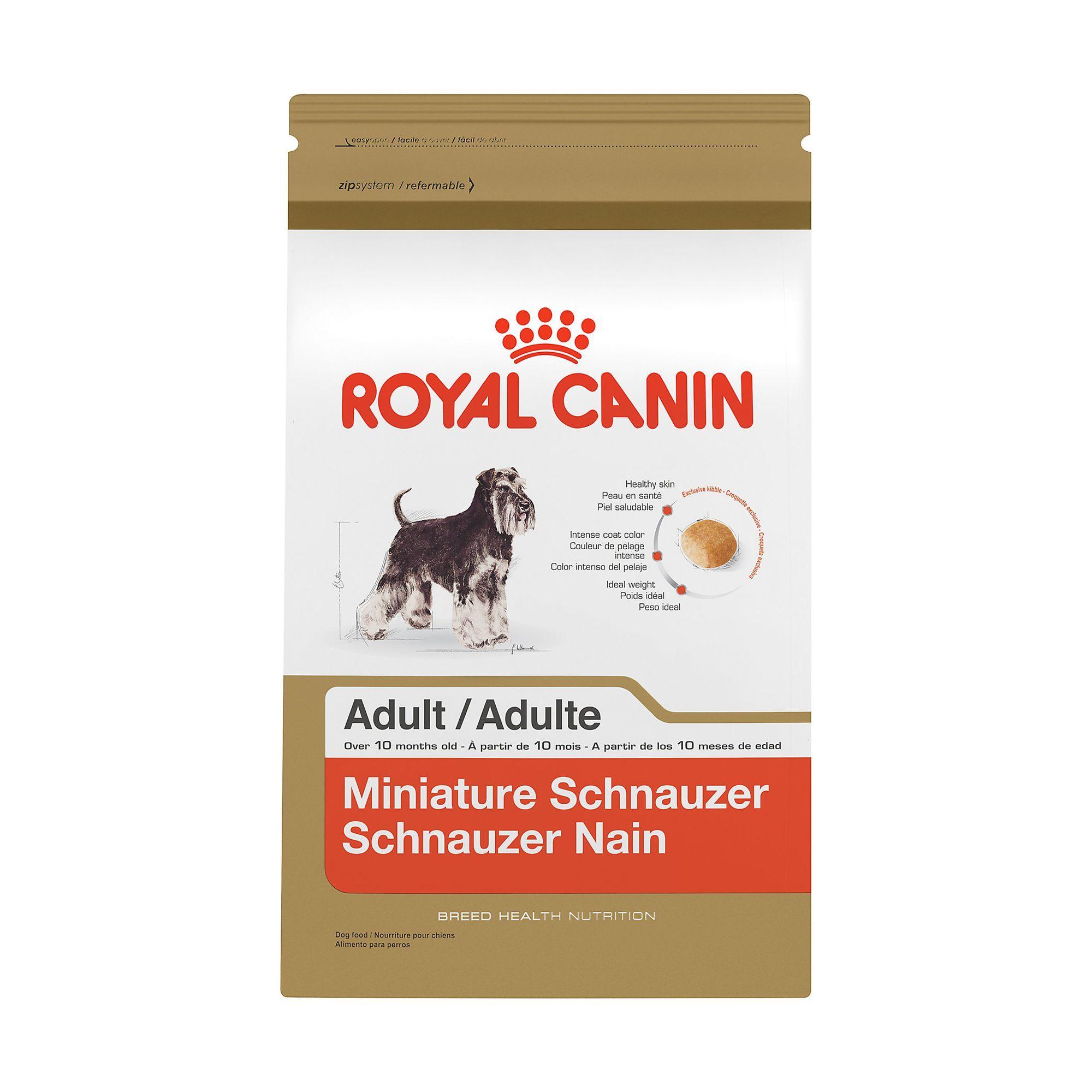 Royal Canin Breed Health Nutrition Miniature Schnauzer Adult Dog