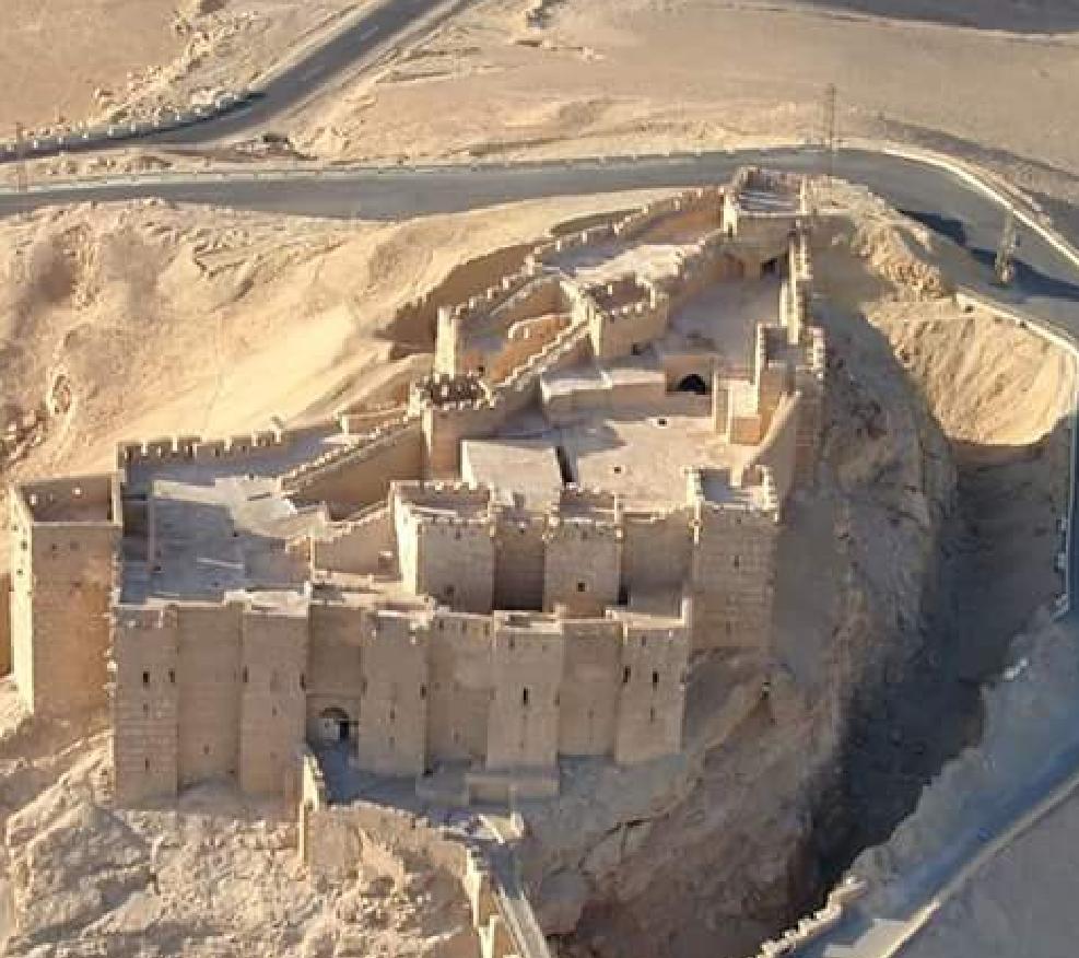 Fakker Aldeen Almaeny Castle, Palmyra, Syria