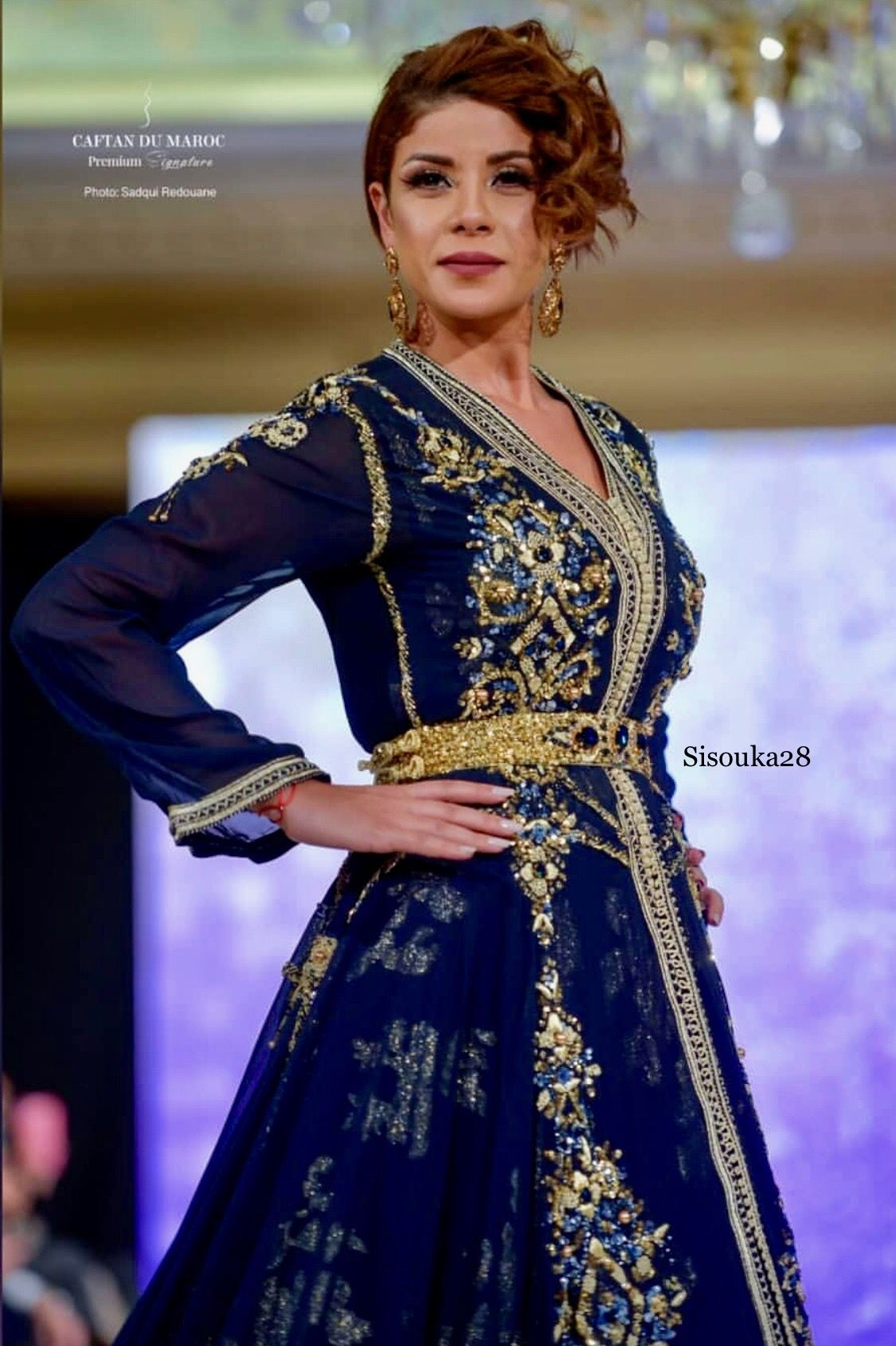 Maria luxe by Naoual Meri | Moroccan fashion,