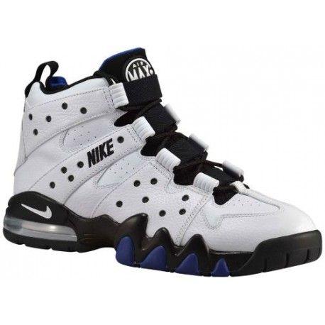Men Nike Air Max CB2'94'Basketball Shoes' White/Black/Old Royal Model UK1944