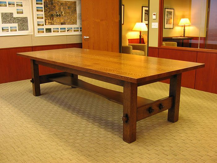 Stickley Conference Table Library Pinterest Craftsman - Conference table plans
