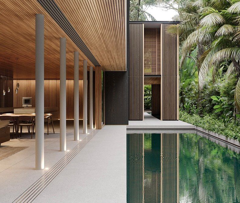 "Photo of ARCHITECTURE HUNTER's Instagram profile post: ""#architecture_hunter  Stunning project! Comment below your thoughts about it! Designed by T+T Architects @tmastarquitectos, Rio Vista House…"""