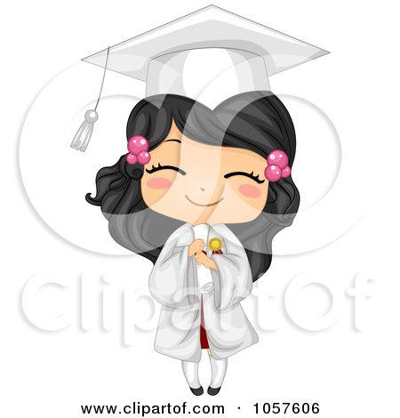 Graduate Girl Holding Her Diploma And Smiling By Bnp Design Studio Illustration Art Illustration Art