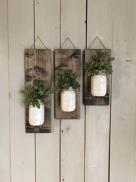 Mason Jar Scones Wall Sconces