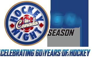 Hockey Night In Canada 60th Season Celebrating 60 Years Of Hockey Hockey News Hockey Sport Hockey